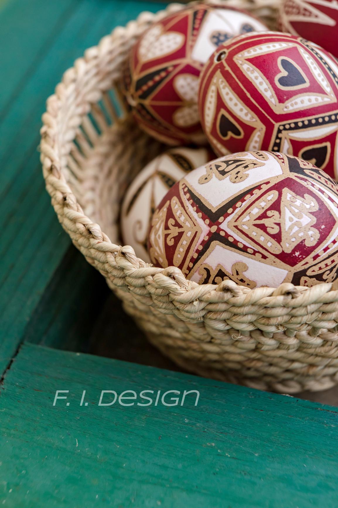 hímes tojás Easter egg Gyimes